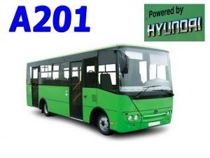 Запчасти для автобуса Богдан А201